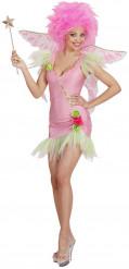 Costume da fatina rosa da donna