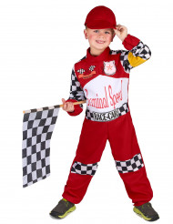 Costume pilota di corsa bambini