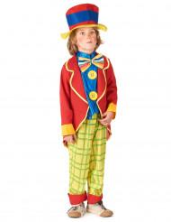 Costume da clown con cappello da bambino