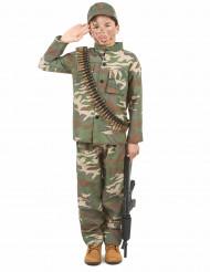 Costume soldato bambino