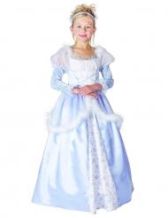 Travestimento da principessa bambina