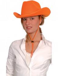 Cappello da cowboy arancione