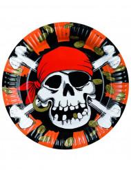 8 piatti pirata