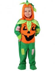 Costume zucca di Halloween bambini