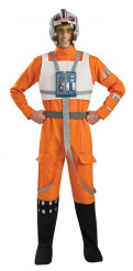 Costume deluxe pilota X Wing Fighter Star Wars™ Adulto