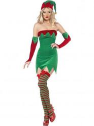 Costume elfo Natale sexy donna