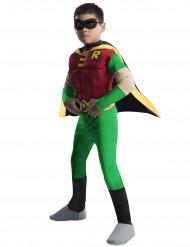 Costume deluxe da Robin™ muscoloso dei Teen Titans™ per bambino