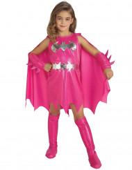 Costume da Batgirl™ fucsia per bambina