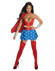 Costume da Wonder Woman™ con gonna per donna
