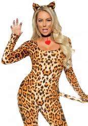 Costume sexy donna leopardo