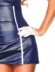 Image of Mini guanti bianchi adulto