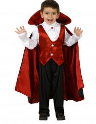 Costume da conte vampiro per bambino halloween