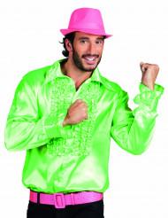 Camicia disco verde uomo