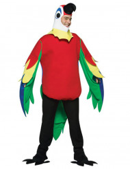 Costume multicolore da pappagallo adulto