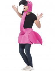 Costume fenicottero rosa adulto