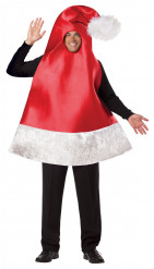 Costume berretto di Natale adulto