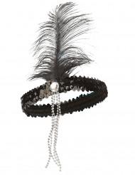 Fascia charleston nera