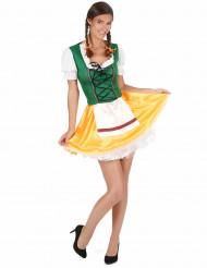 Costume da bavarese tradizionale per donna