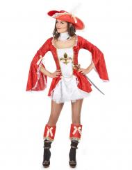 Costume moschettiere con tutù donna