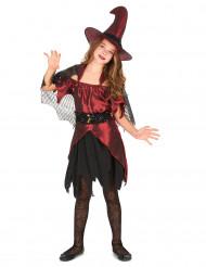 Costume strega rossa bambina Halloween