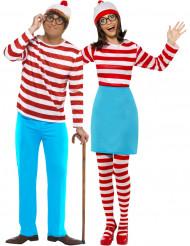 Costume coppia Dov'è Wally?™