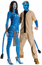 Costume coppia Neytiri e Jake Sully Avatar™