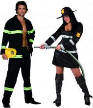Costume coppia pompieri