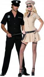 Costume coppia poliziotti