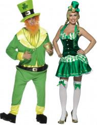 Costume coppia irlandese