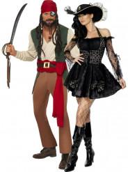 Costume coppia pirata