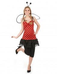 Costume coccinella donna