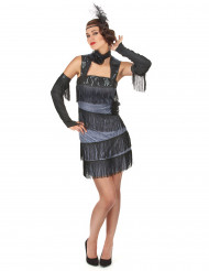 Costume Charleston donna con frange