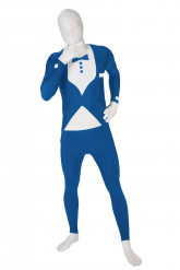Costume Morphsuits™ completo blu adulto