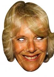 Maschera Camilla Parker Bowles