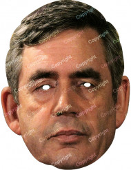 Maschera Gordon Brown