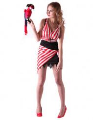 Costume abito da pirata donna