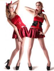 Costume reversibile demone e vampiro donna
