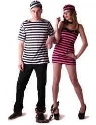 Costume coppia prigionieri amanti per adulti