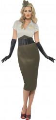 Costume militare vintage per donna