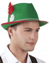 Cappello bavarese verde uomo/donna