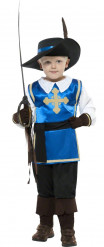 Costume moschettiere blu per bambino