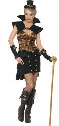 Costume vampiro Steam Punk Halloween donna