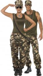 Costume coppia militare