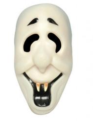 Maschera fantasma sorridente adulti Halloween
