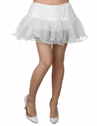 Gonnellino bianco in tulle