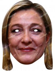 Maschera Marine Le Pen