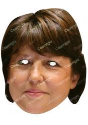 Maschera Martine Aubry