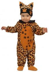 Costume leopardo bebe
