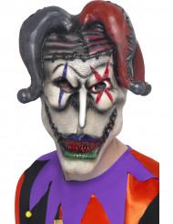 Maschera joker Halloween adulto