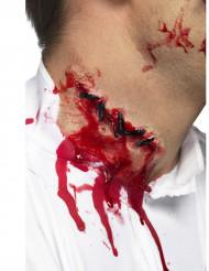 Trucco ferita collo